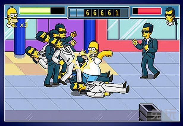 《辛普森的一家》是九十年代最具影响力的游戏之一,这款游戏以动画片