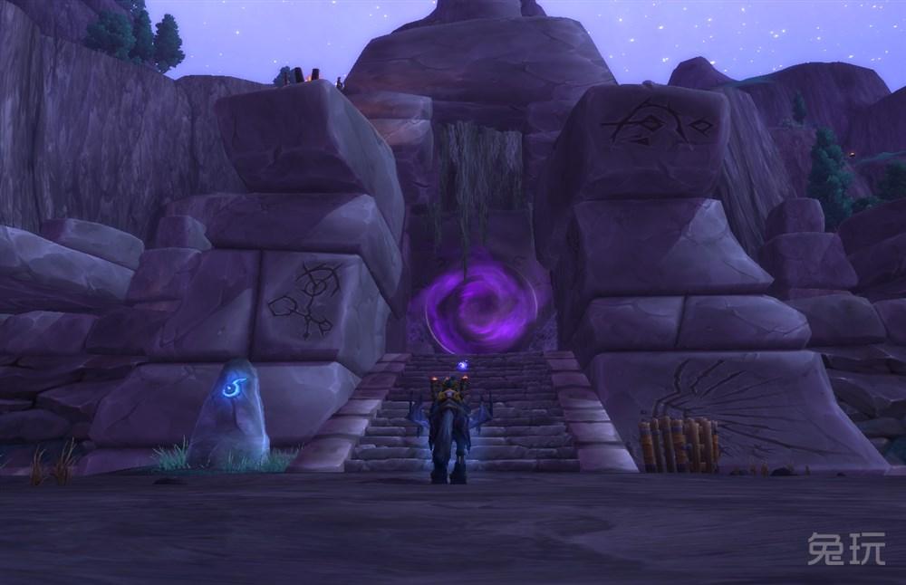 魔兽世界副本影月墓地入口在哪?