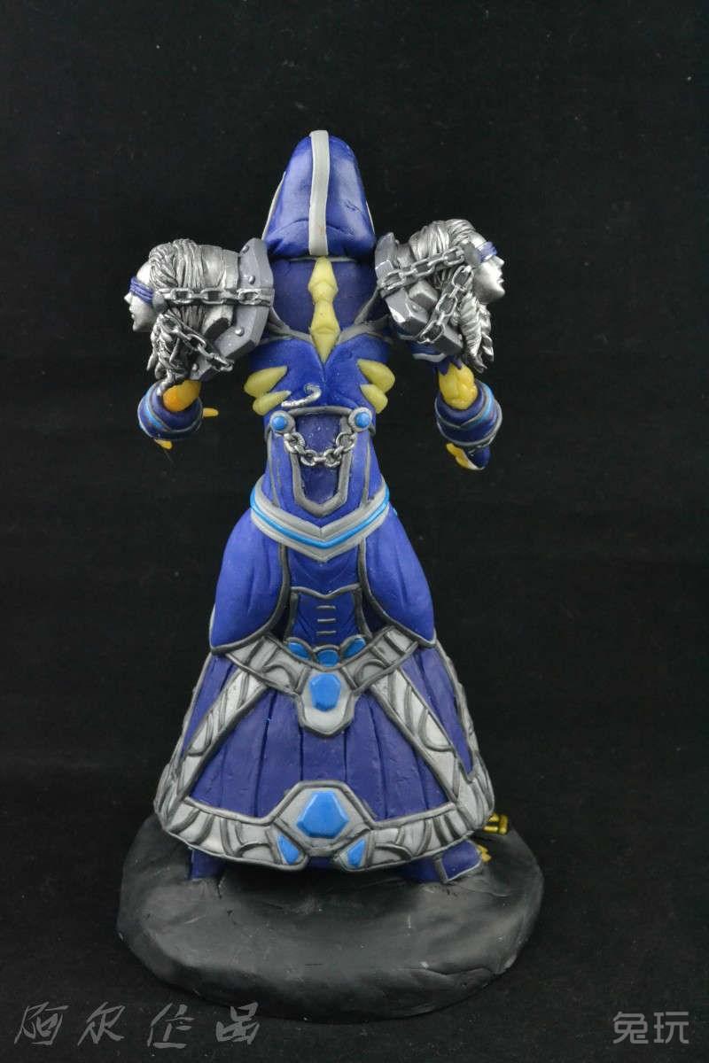 魔兽玩家手工制作:亡灵法师精致软泥模型(5)