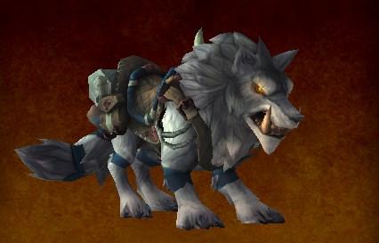 那么我们便一起来看看霜狼兽人的声望奖励吧:        军需官—&