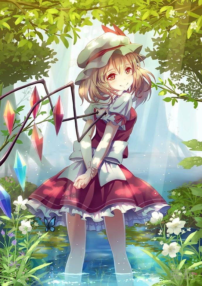 可爱日本动漫女孩 阳光般微笑的二次元美少女图片(4)