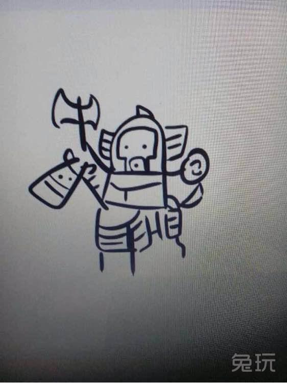 dota2英雄简笔画系列 几笔勾出你喜欢的英雄(18)