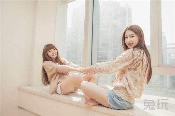 清纯可爱美女生活照 闺蜜是最好的陪伴(6)