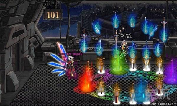 玩家自制dnf绝望之塔第101层