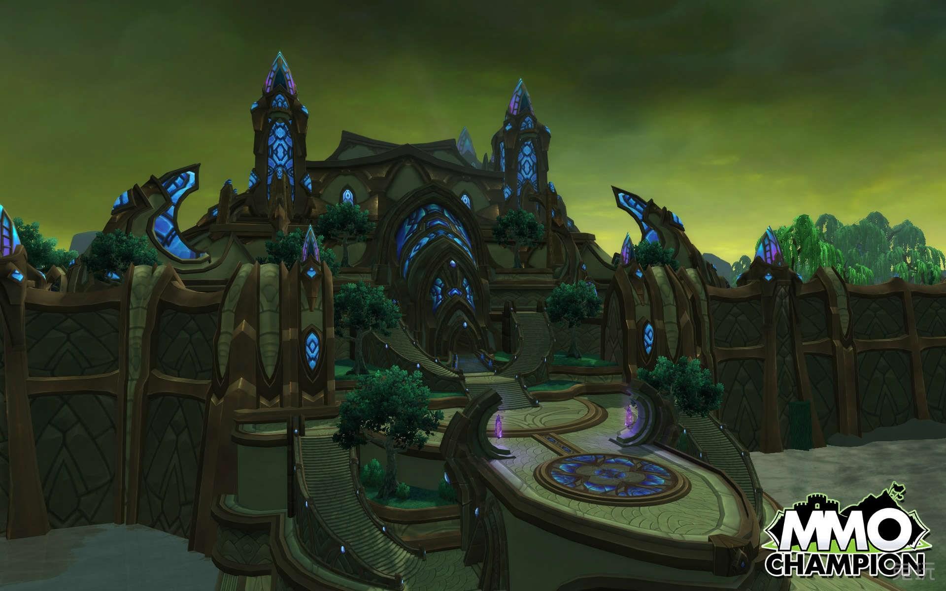 魔兽世界 图片  标签:                黑暗神殿新地图影月谷德拉诺之