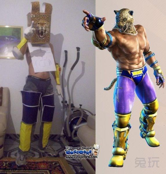 虚拟与现实 游戏动漫人物cosplay(9)