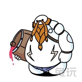 lol超能陸戰隊合體頭像 大白coslol中的英雄(3)