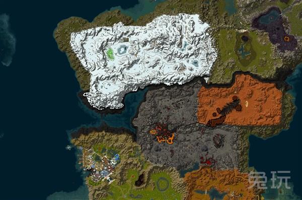 """军团再临新地图""""破碎群岛""""卫星图预览_兔玩网魔兽世界"""