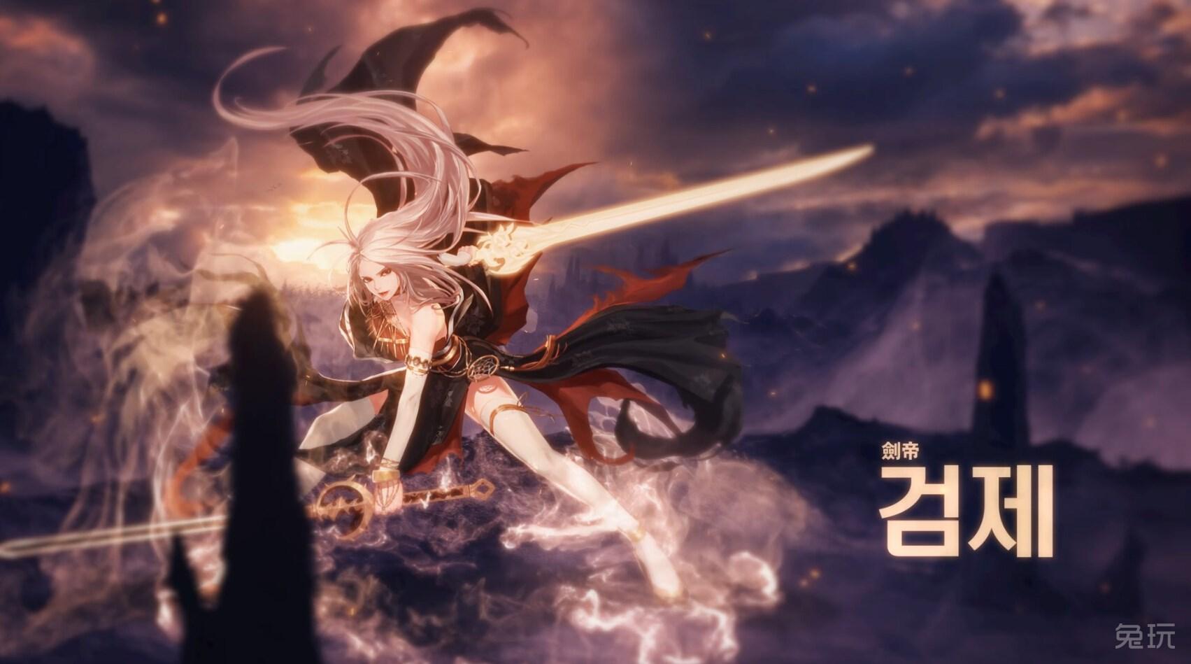 王者的气势 dnf剑豪二觉剑帝高清壁纸欣赏(5)