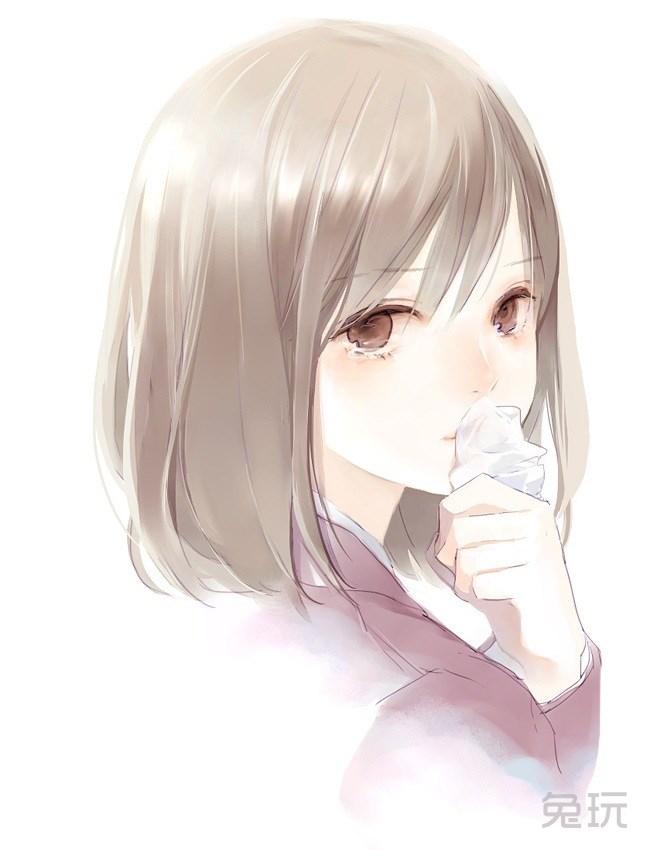 二次元动漫萌妹子哭泣图片(4)
