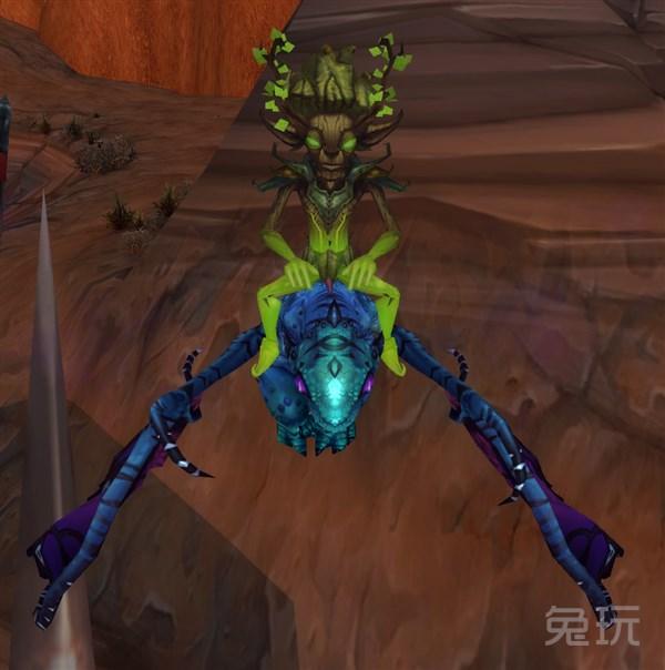 骑魔法灵龙的小宠物 7.0新宠蓟叶探险家