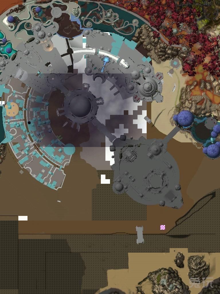 全新地图破碎群岛的各种地图细节卫星俯视图一览.