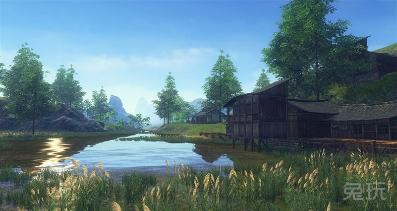 天涯明月刀ol唯美风景 真实的还原现实风景