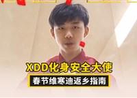 XDD化身安全大使 春节维寒迪返乡指南