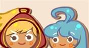 炉石娘圣诞节主题炉石九大职业英雄化身姜饼人漫画