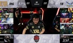 亚洲对抗赛:揭幕战RNG遭爆冷 FW奇招致胜