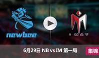 德玛西亚杯6月29日 NBvsIM第一局集锦