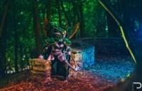 国外魔兽世界女玩家神级守望者玛维·影歌COS