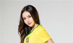 巴西队足球宝贝写真