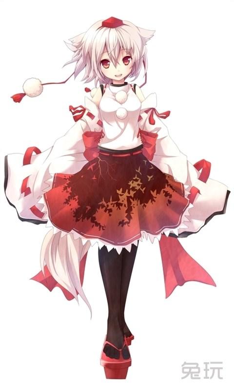 银发动漫美少女组图(7)