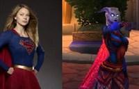 <font color='#FF0000'>德莱尼萨满幻化:SuperGirl女超人COS</font>