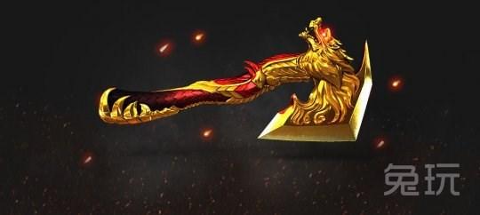 龙啸-英雄级武器  世界顶级武器收藏家制作的英雄级战斧l龙高清图片