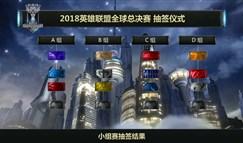 全球总决赛分组公布 RNG连续三年遇上老对手