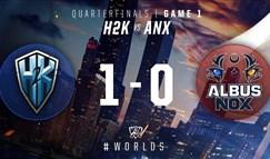 2016全球总决赛10月17日 H2K vs ANX第一场录像