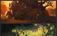 《魔兽世界:旅行者》画师分享新书新插图