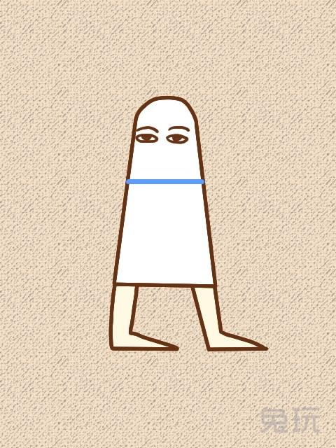日本最新新潮胸上扎蓝丝带