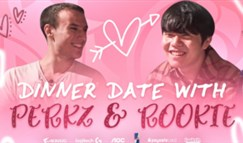 Perkz与Rookie约会 双方交换签名队服