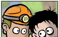 漫画欣赏:《爆笑魔兽》之如此挖矿