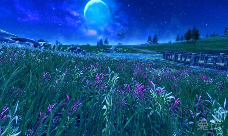 剑灵国服黑夜风之平原 超美风景高清图欣赏(4)