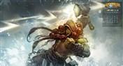 《炉石传说》日历壁纸:十一月,风暴!