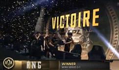 MSI总决赛RNG夺冠 斗鱼蓝光高清直播引发观赛狂潮