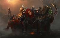 魔兽玩家绘画:就是干,不能怂-钢铁女武神