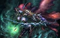同人绘画:黑暗游侠-为了希尔瓦娜斯的胜利