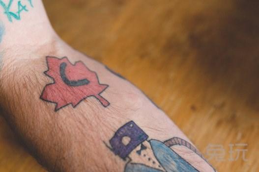 美网友本打算做小火龙纹身