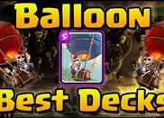 【皇室战争】气球势头上升 黑王子双冰气球流