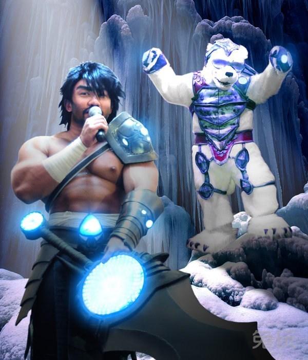 英雄联盟蛮王cosplay(3)