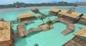 CF波拉波拉岛地图介绍 海滩派对BUG教学视频