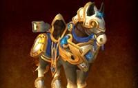 原来是瑞文戴尔战马 圣骑大领主坐骑预览