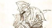 魔兽原创:德拉诺战士套装设计 血吼之力