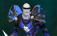 玩家分享:海盗风格皮甲与天蓝色布甲幻化