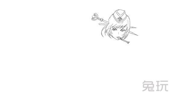 dnf玩家分享黑白手绘图(2)