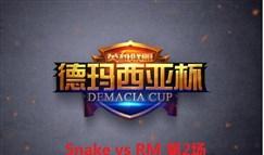 [德玛西亚杯][16进8] Snake vs RM 第2场回顾