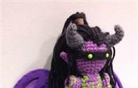魔兽有爱玩家制作:毛线针制出一个伊利丹