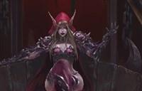 魔兽玩家原创画作:部落大酋长—希尔瓦娜斯