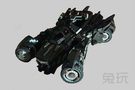 kabal决定自己动手用乐高积木将蝙蝠车给华丽重现!