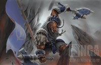 魔兽绘画:我只记得他跳上去的那一瞬间!